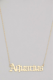 R+D Hipster Emporium  Aquarius Necklace - Product Mini Image