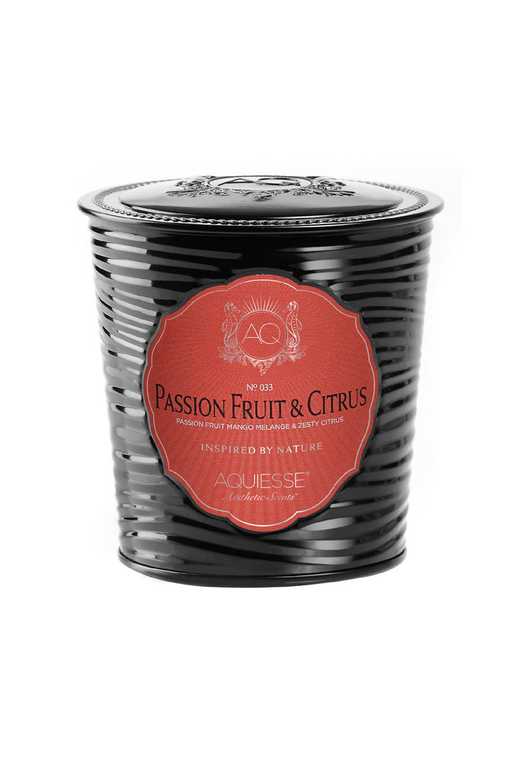 Aquiesse Passion Fruit Candle - Front Full Image