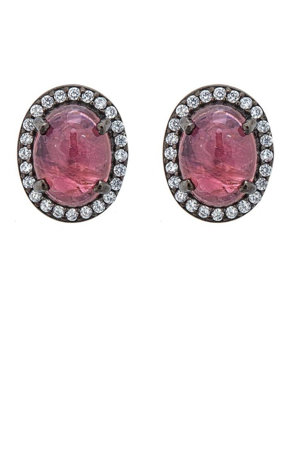 Cristina Sabatini Aquila Tourmaline Earrings - Front Cropped Image