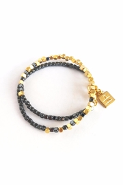 AR-by roni albert Sahara Bracelet- Gold&Gray - Product Mini Image