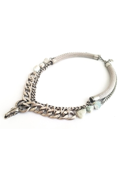Shoptiques Product: Taurus Necklace- Silver