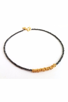 Shoptiques Product: Wow Necklace Black&Gold