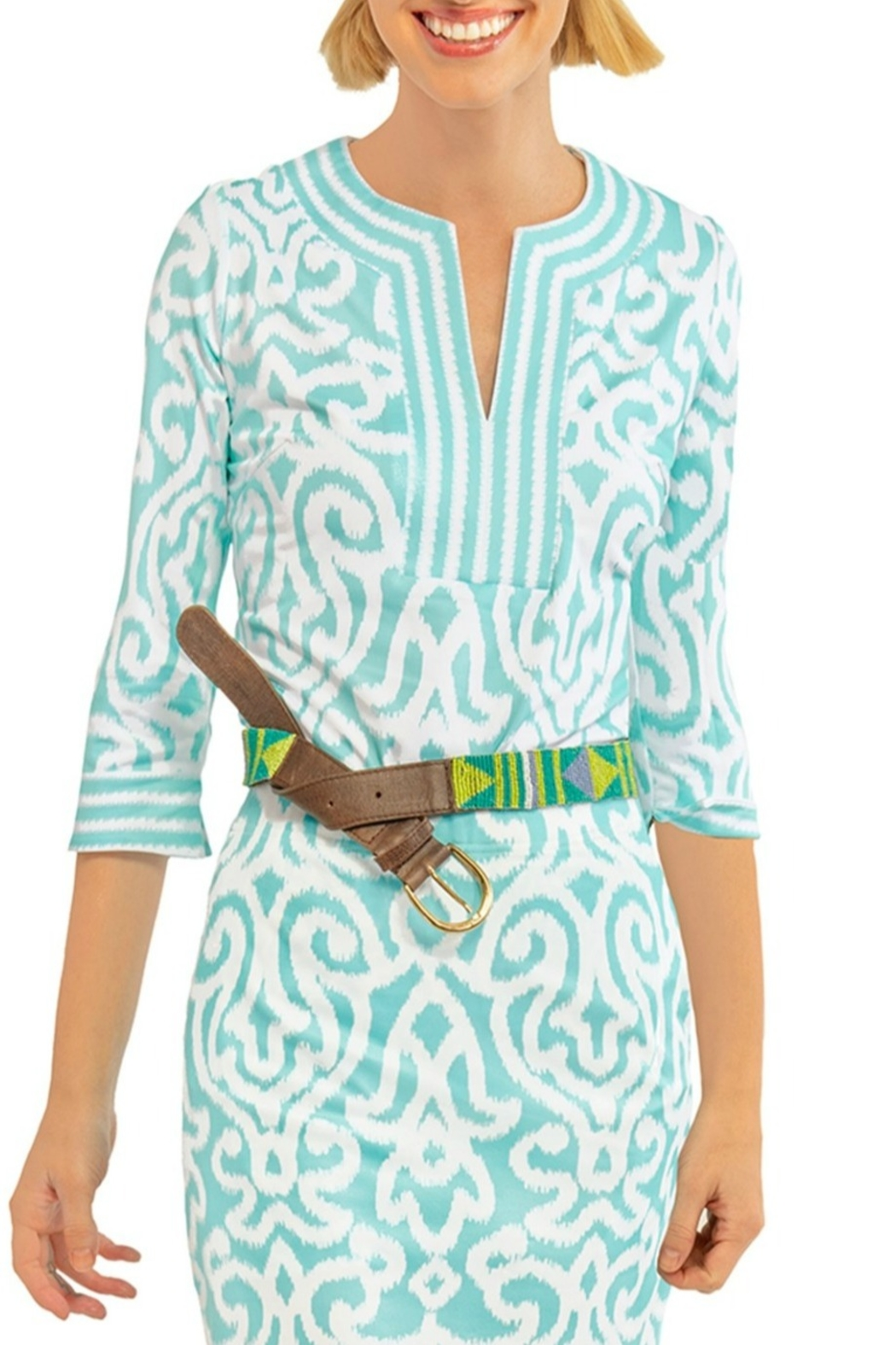 Gretchen Scott Arabesque Jersey Tunic - Main Image