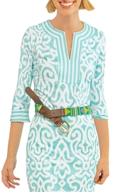 Gretchen Scott Arabesque Jersey Tunic - Front cropped
