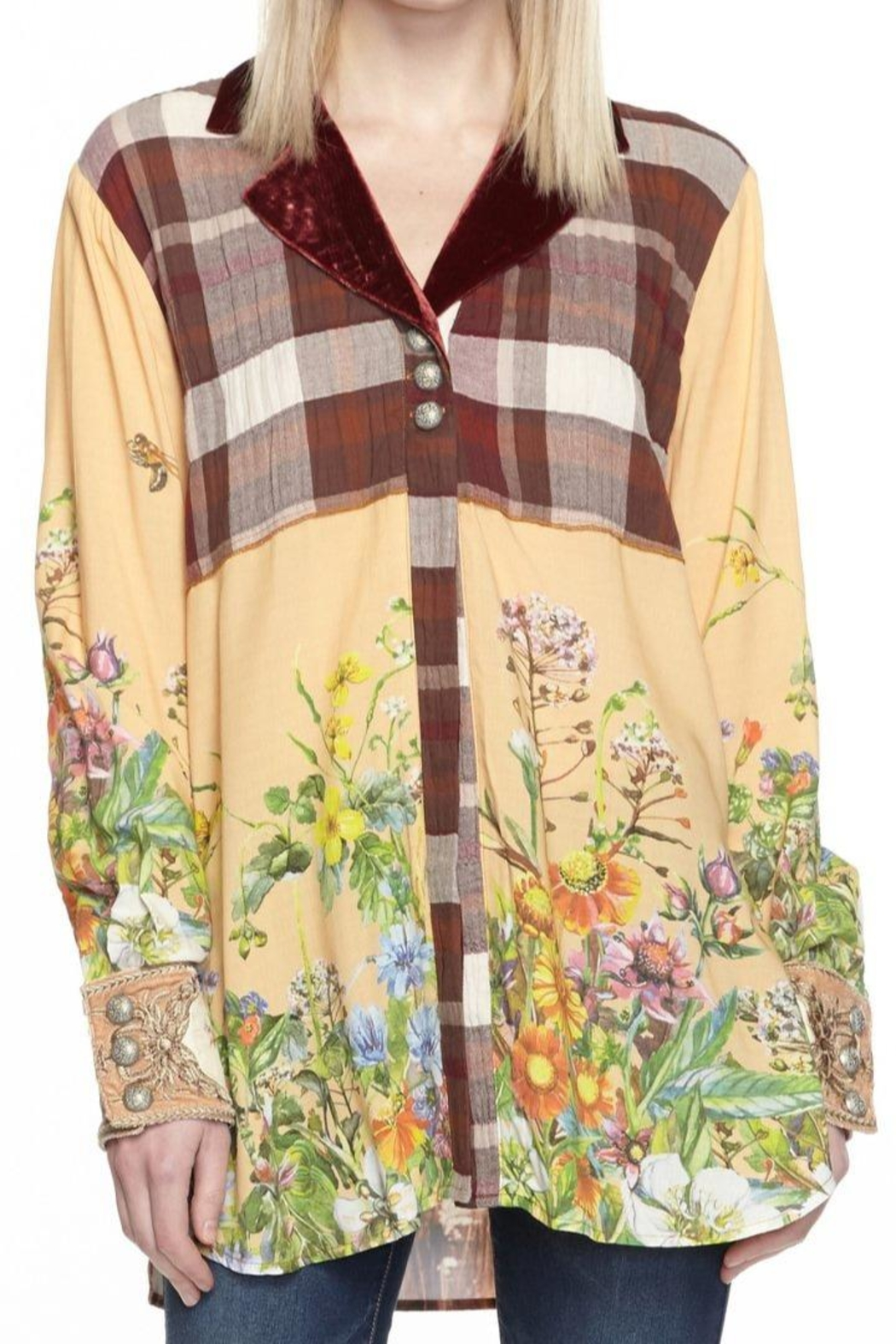 Aratta All These Horses Top - Front Full Image