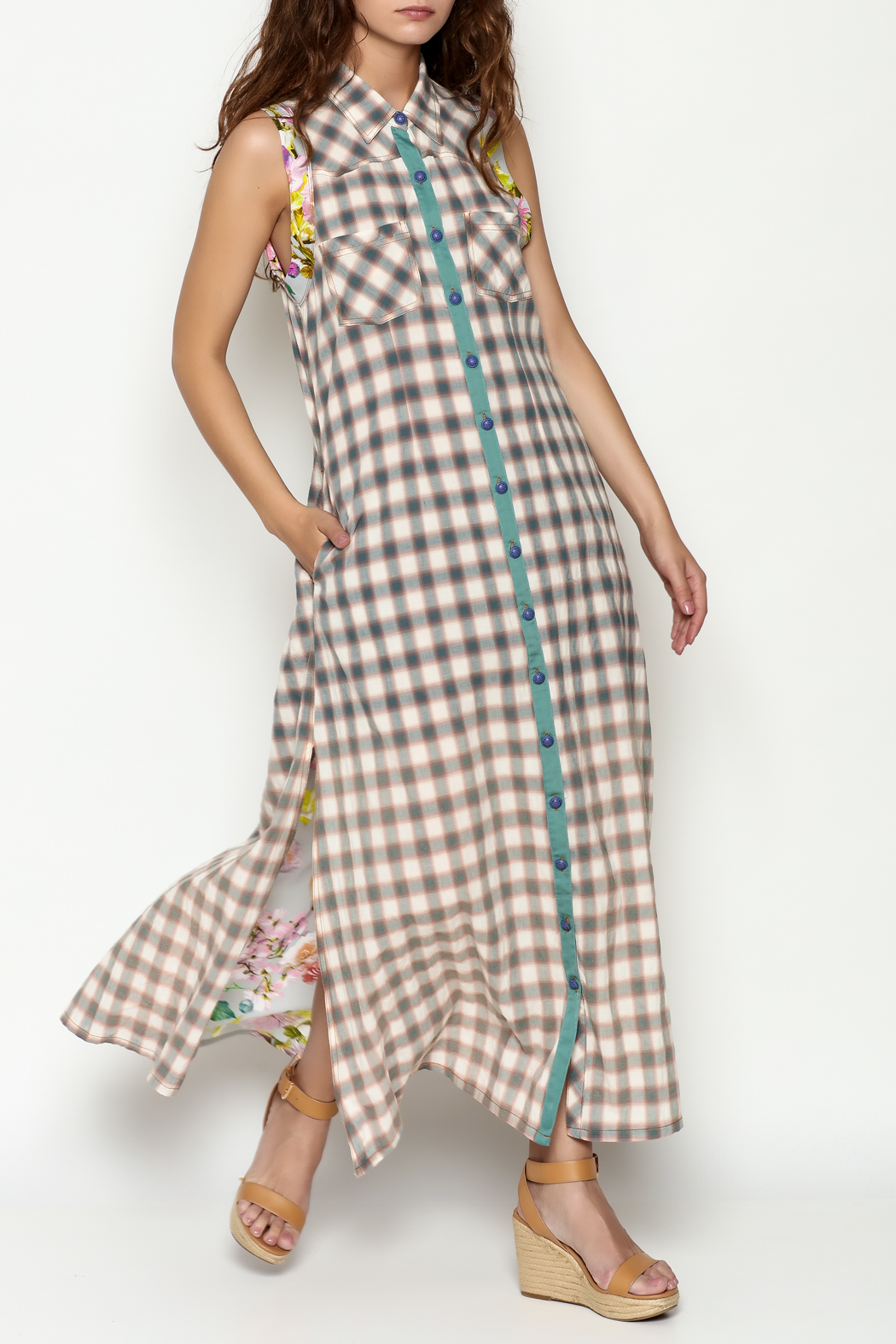 Aratta Alpine Aster Maxi - Front Cropped Image