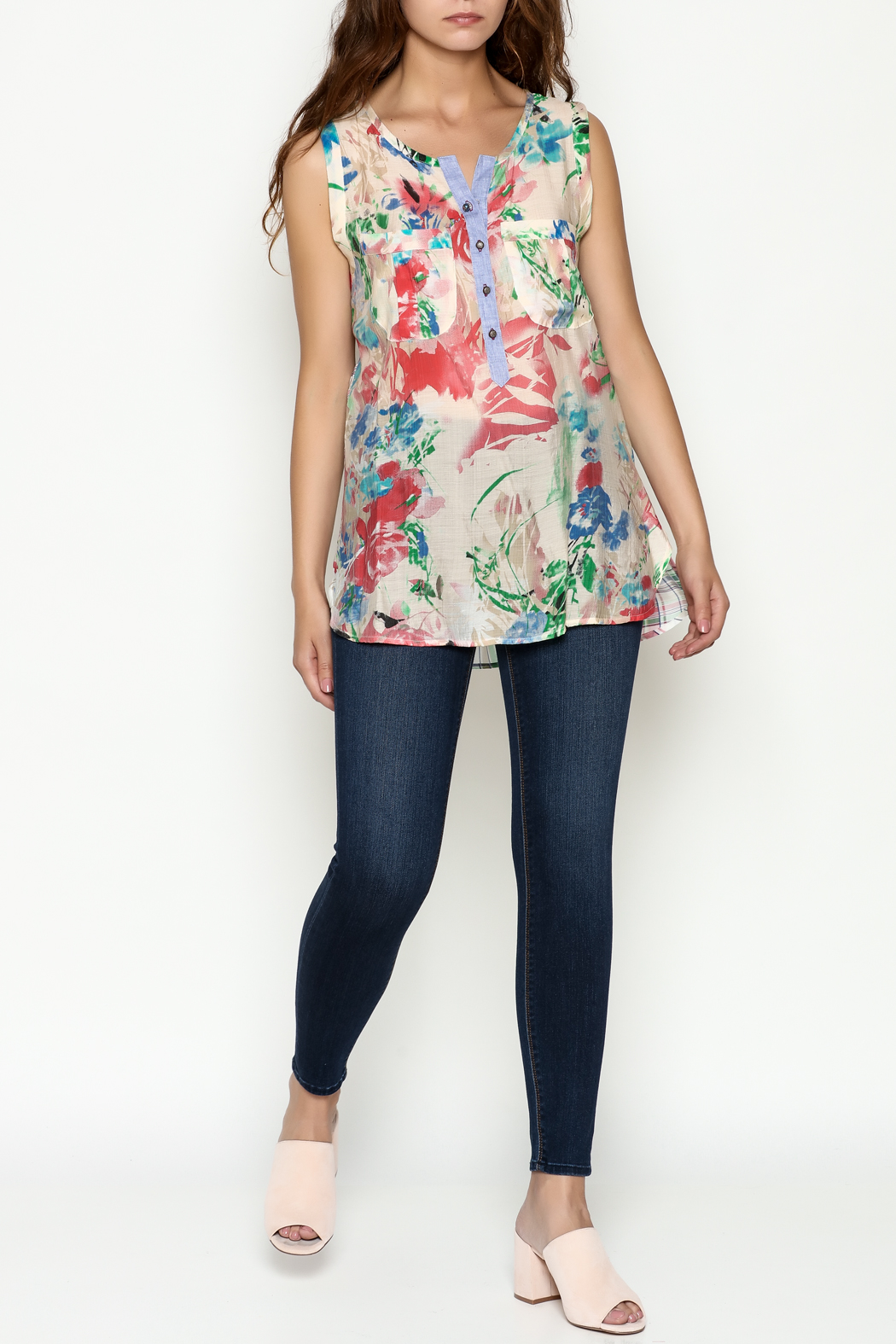 Aratta Marigold Top - Side Cropped Image