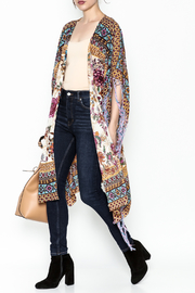 Aratta Bohemian Fringed Wrap - Front cropped