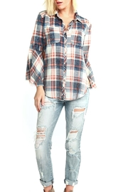Aratta Bohemian Plaid Shirt - Product Mini Image
