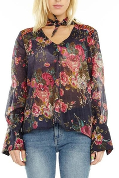 Aratta Diana Floral Blouse - Product List Image