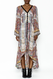 Aratta Drama Hi Low Dress - Front full body