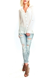 Aratta Everyone Wonders Blouse - Front cropped