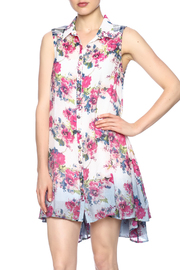 Aratta Floral Shirt Dress - Product Mini Image