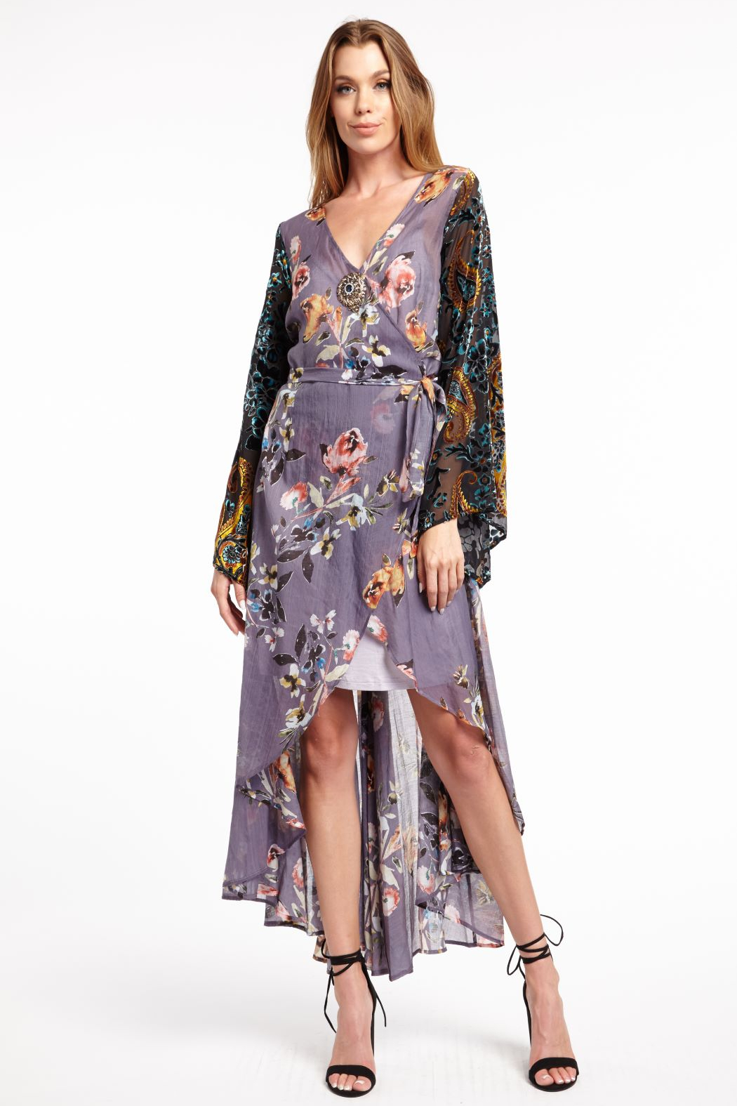 Arratta Aratta Floral Wrap Dress - Main Image