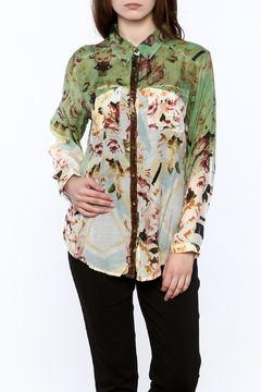 Aratta Floral Button-Down Top - Product List Image