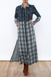 Aratta Mixed Media Maxi Dress - Front full body