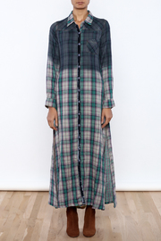 Aratta Mixed Media Maxi Dress - Front cropped