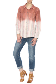 Aratta Ombre Button Shirt - Front full body