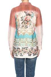 Aratta Ombre Button Shirt - Back cropped