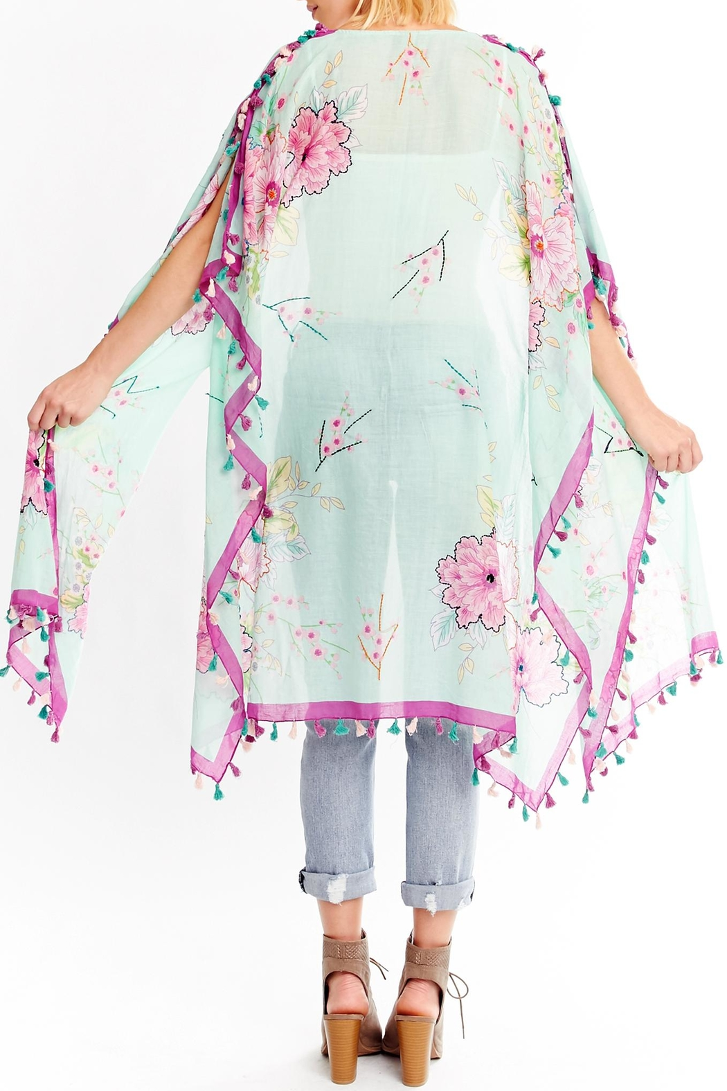 Aratta Perfect Life Kimono - Side Cropped Image