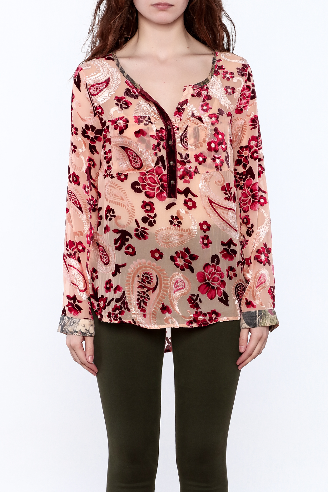 Aratta Rose Quartz Top - Side Cropped Image