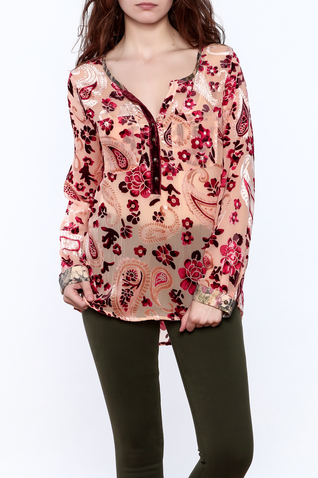 Aratta Rose Quartz Top - Main Image