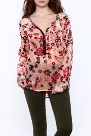 Aratta Rose Quartz Top - Front cropped