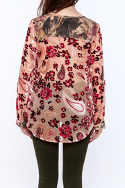 Aratta Rose Quartz Top - Back cropped