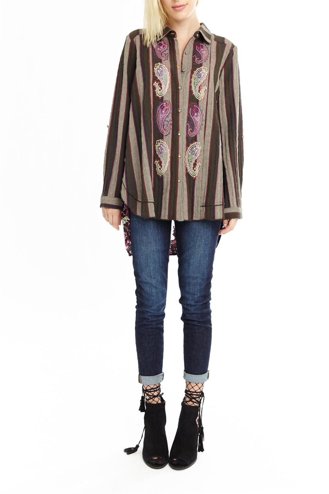 Aratta Secret Garden Shirt - Front Cropped Image