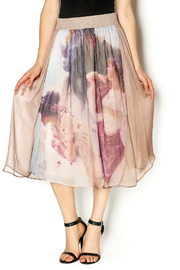 Aratta Silk Midi Skirt - Product Mini Image
