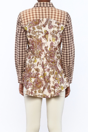 Aratta Smoky Quartz Top - Back cropped
