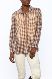 Aratta Smoky Quartz Top - Front cropped