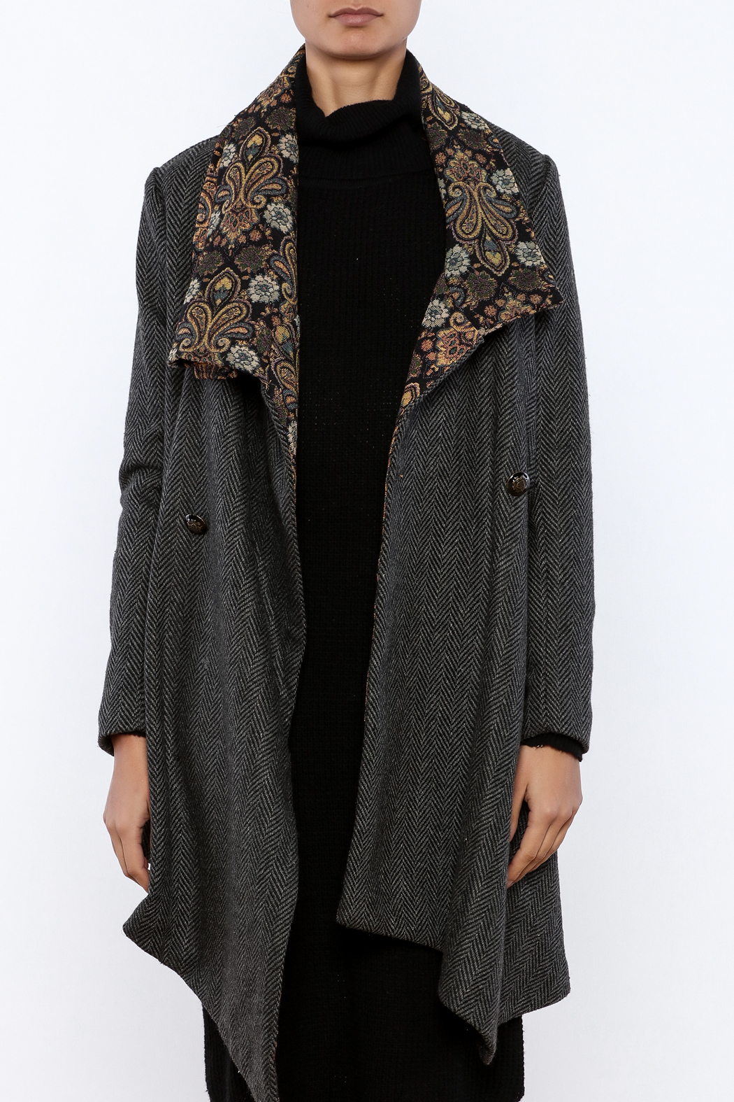 Aratta Tapestry Coat - Side Cropped Image