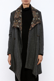 Aratta Tapestry Coat - Side cropped