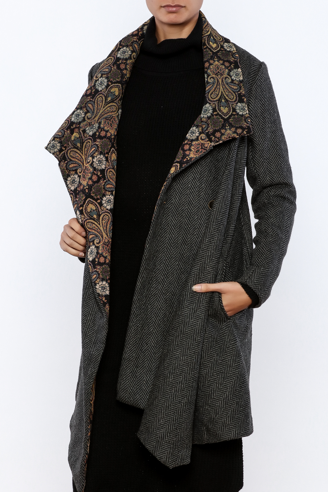 Aratta Tapestry Coat - Main Image