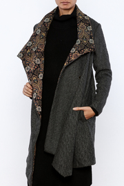 Aratta Tapestry Coat - Front cropped