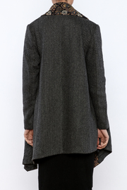 Aratta Tapestry Coat - Back cropped