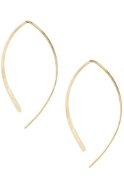 Kris Nations Arc Hoop Earrings - Product Mini Image