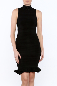 Shoptiques Product: Sleeveless Flounced Dress