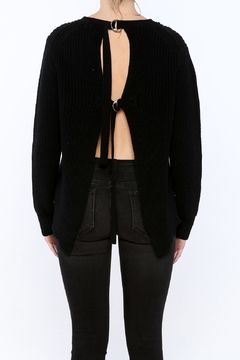 Shoptiques Product: Black Long Sleeve Sweater