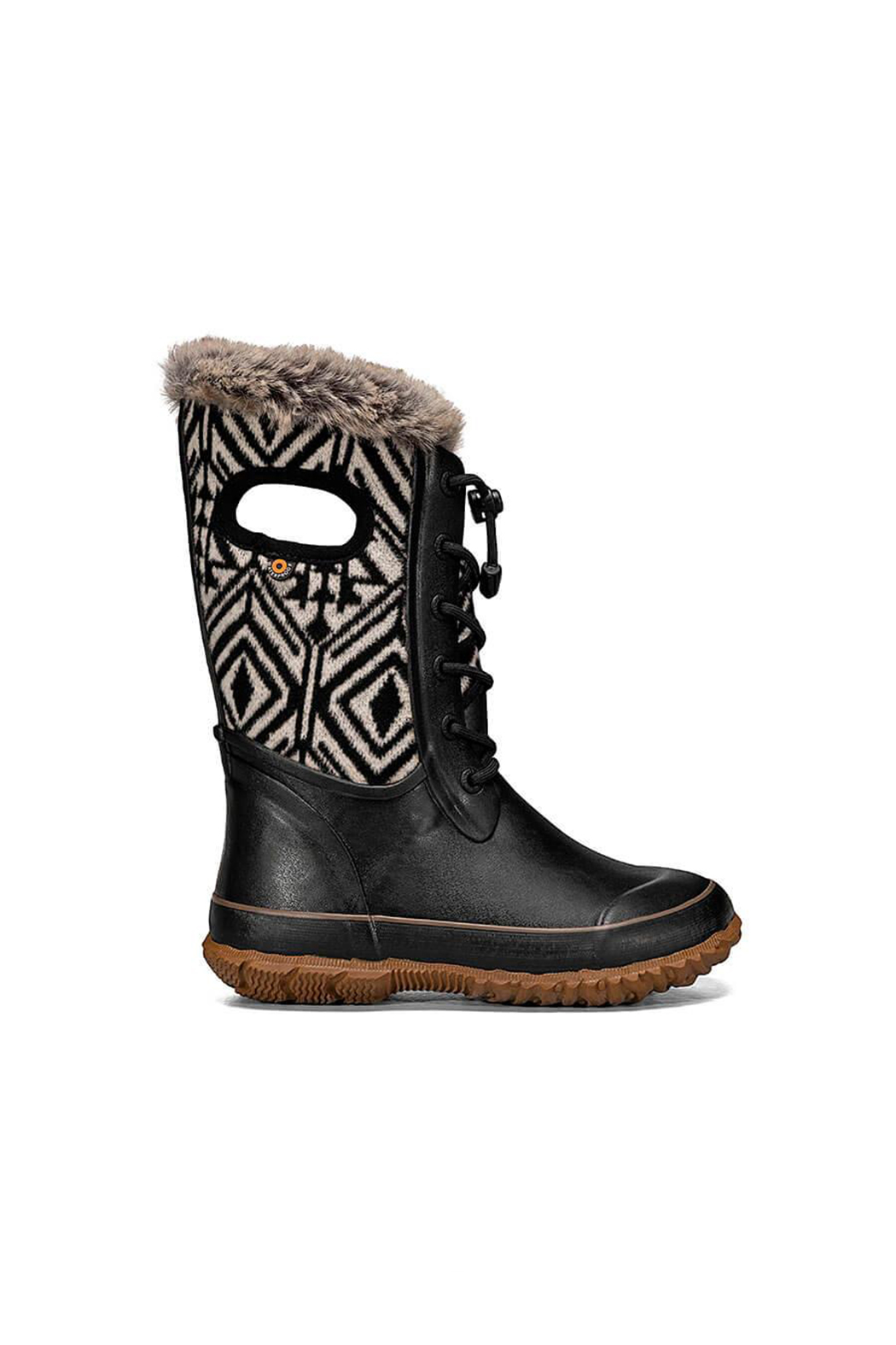 bogs  Arcata Geo Waterproof Winter Boots - Front Cropped Image