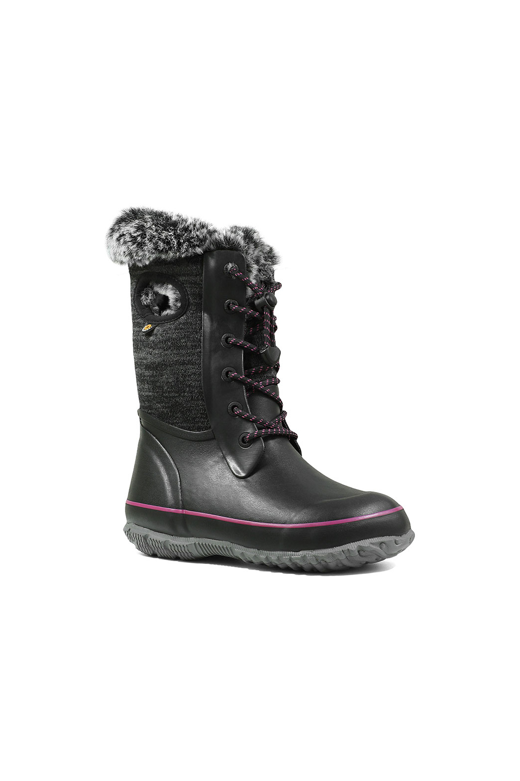 BOGS Arcata Knit Kids Waterproof Boots - Front Full Image