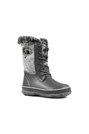 BOGS Arcata Knit Kids Waterproof Boots - Front full body