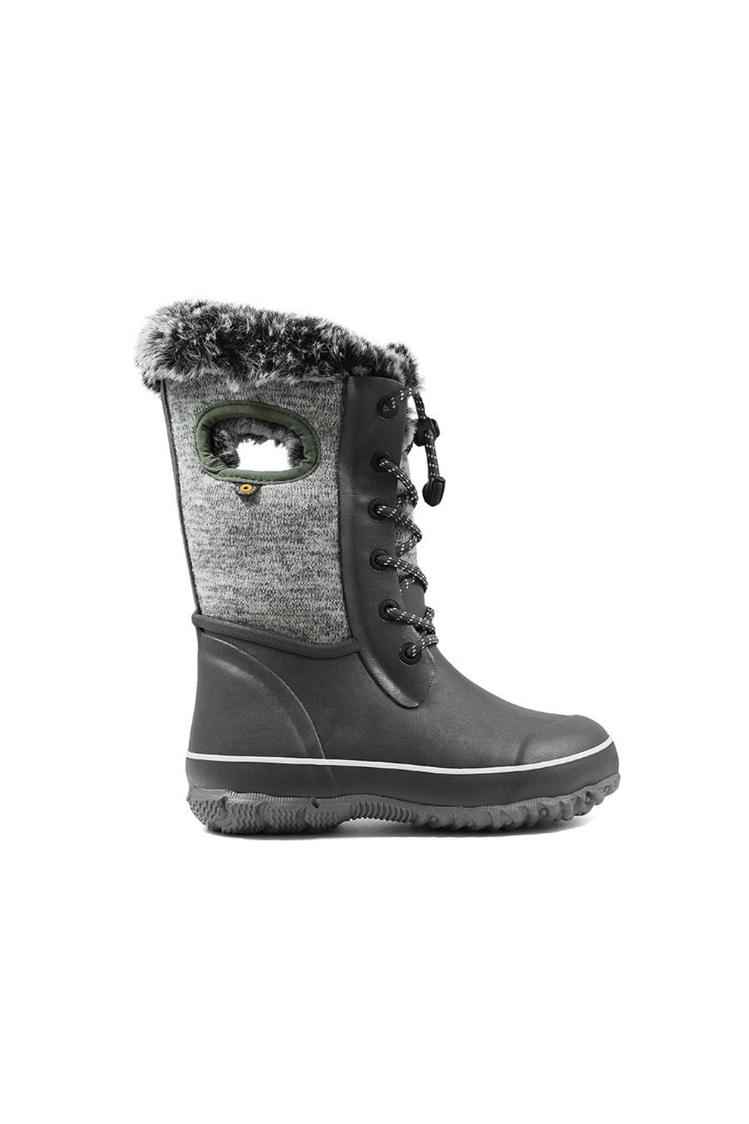 BOGS Arcata Knit Kids Waterproof Boots - Front Cropped Image