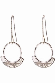 Arcatus Jewelry Light Silver Earrings - Product Mini Image