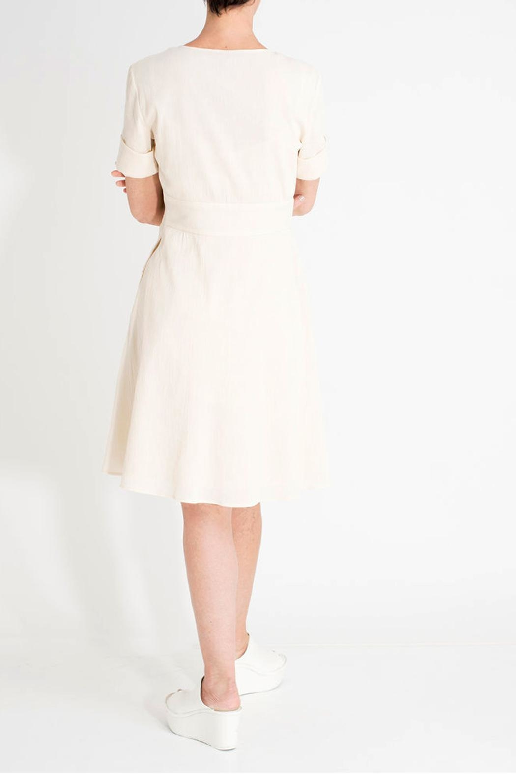 Archerie Edie Zip-Front Dress - Side Cropped Image