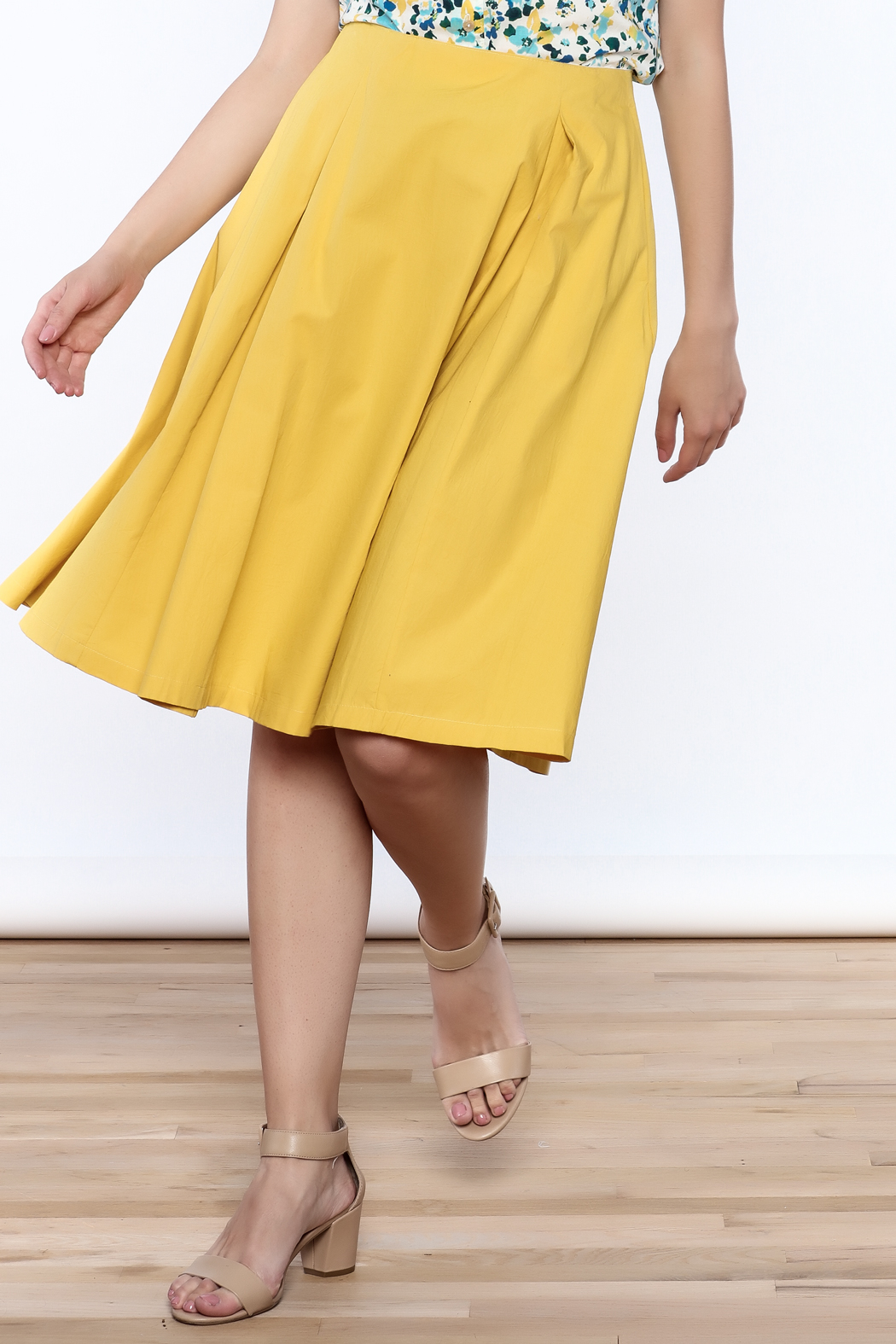 Archerie Valerie Pleated Skirt - Main Image