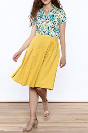 Archerie Valerie Pleated Skirt - Front full body