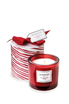 Shoptiques Product: Peppermintbark Giftboxed Candle