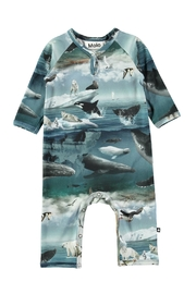 Image of Arctic Landscape Playsuit